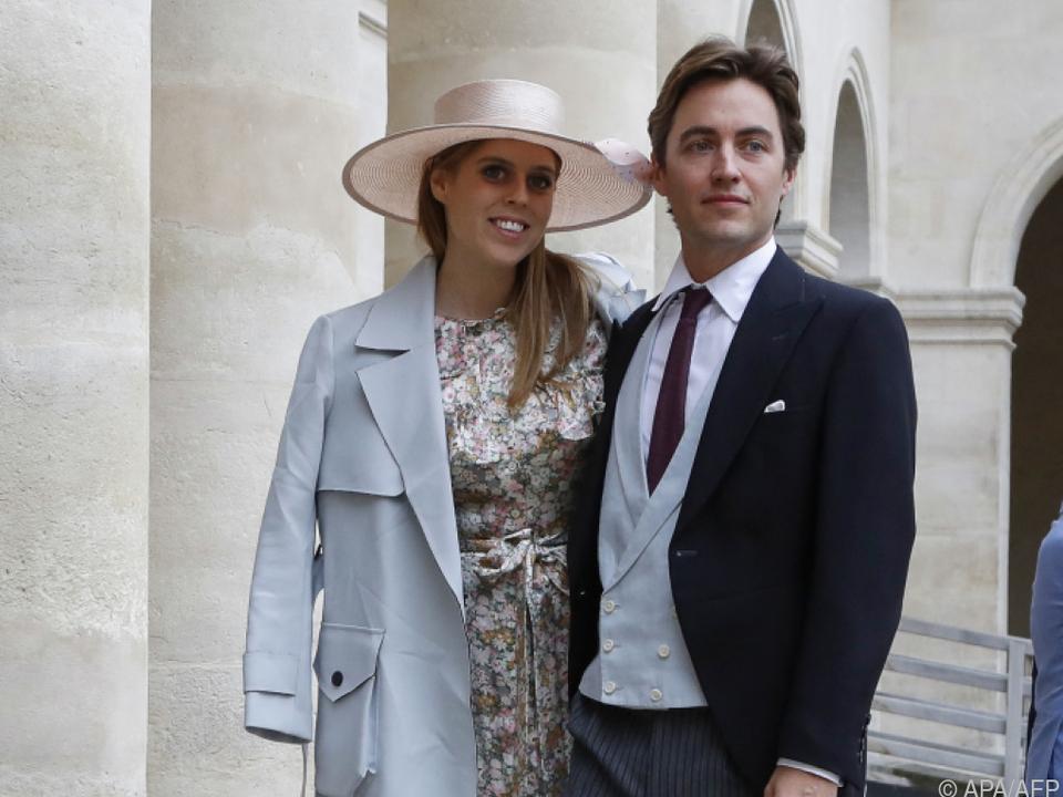 Die Prinzessin mit ihrem Ehemann Edoardo Mapelli Mozzi