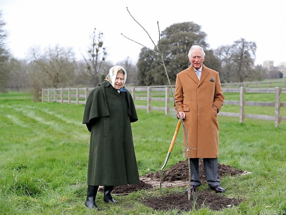 Die Queen pflanzte bereits einen Baum