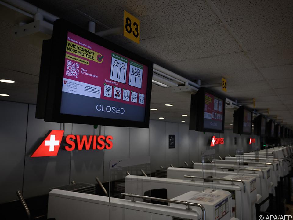 Die Schweizer Airline leidet unter dem Ausbleiben der Fluggäste