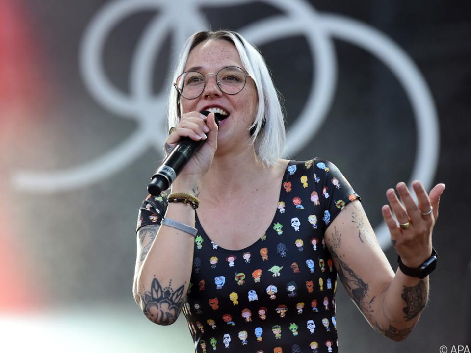 Die Schweizerin sang vor zwei Jahren beim Donauinselfest