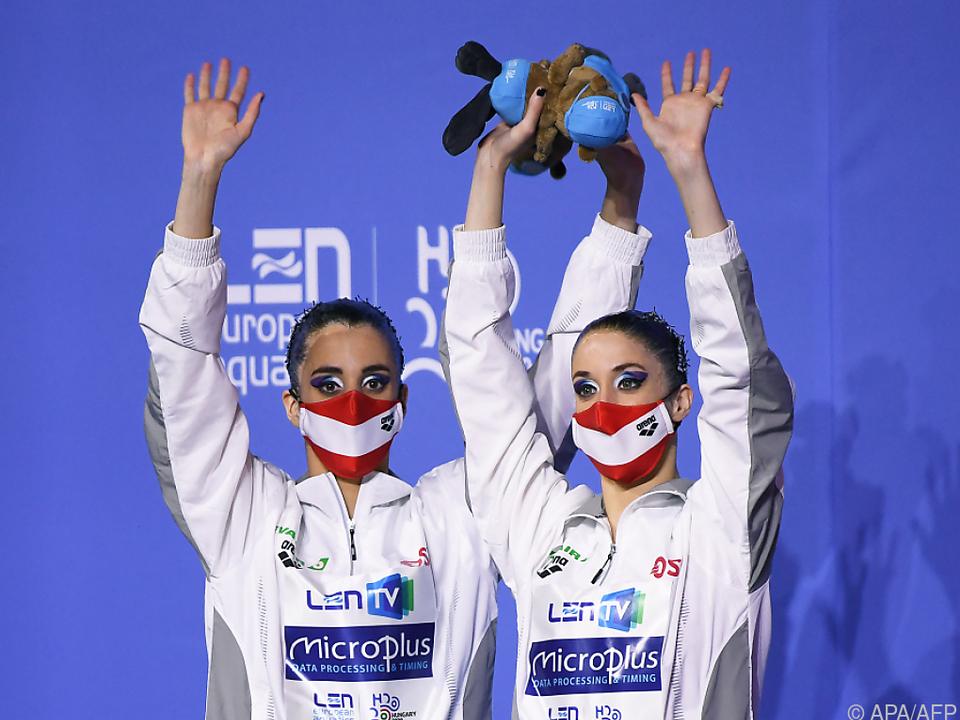 Die zweite Bronzemedaille für die Alexandri-Schwestern bei EM