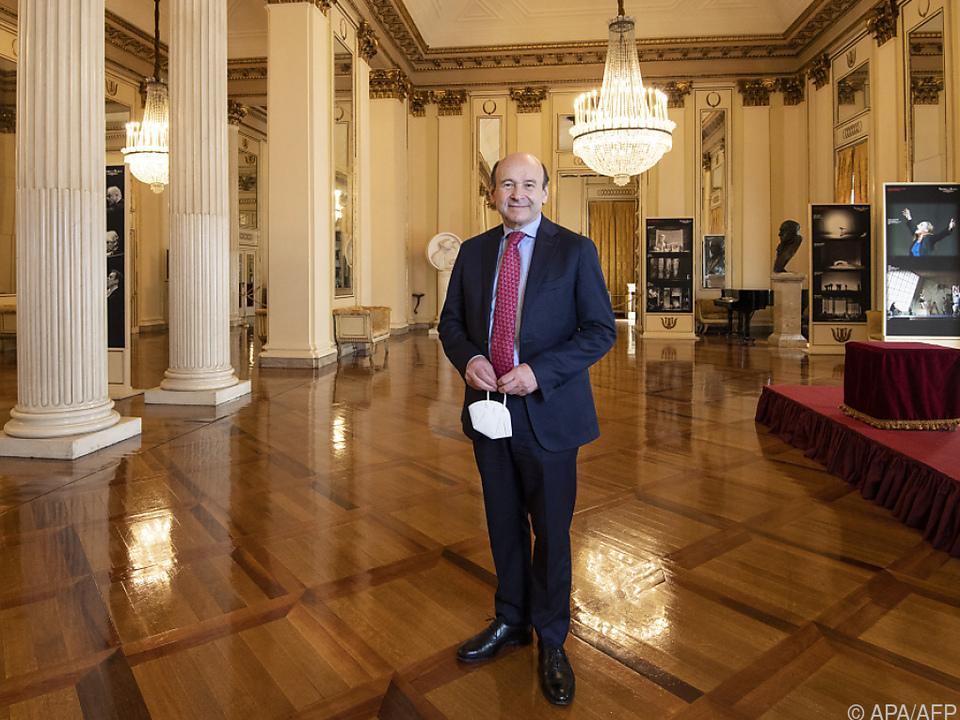 Direktor Dominique Meyer hat die Scala wiedereröffnet