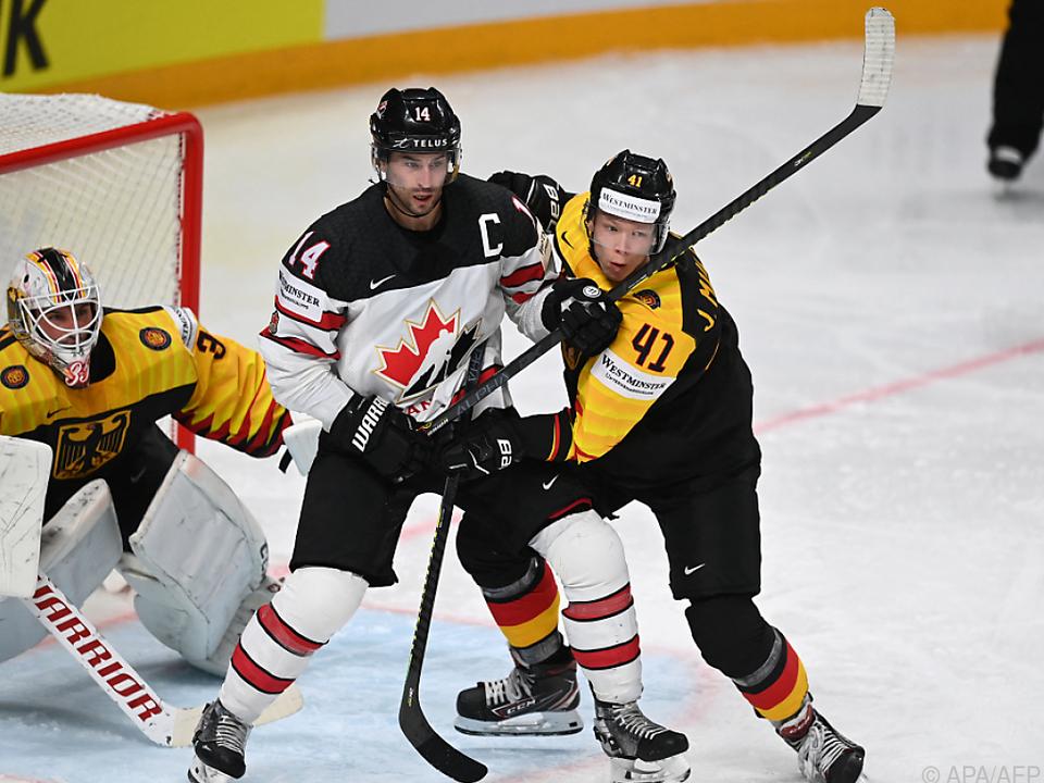 Dritte Niederlage für Kanada, diesmal gegen Deutschland
