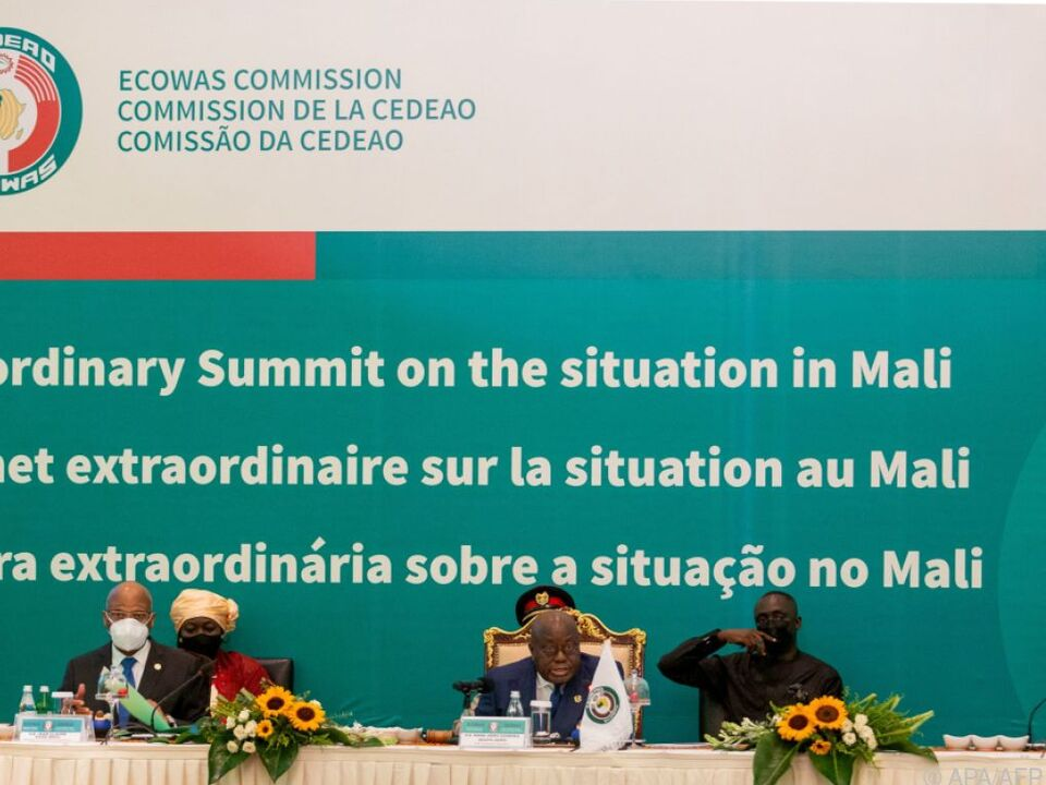 ECOWAS-Treffen zum Putsch in Mali