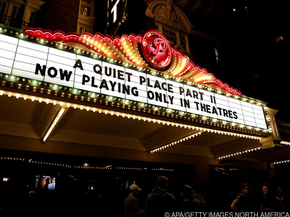 Ein Kino in Texas zeigt \