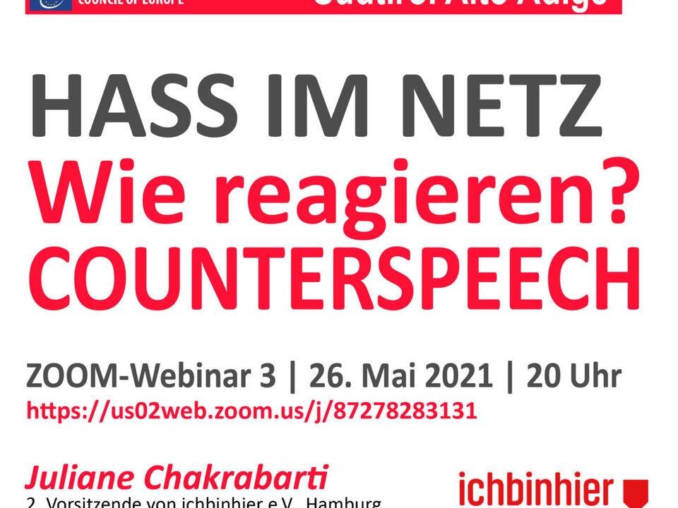 einladung webinar no hate speech MÄR 21