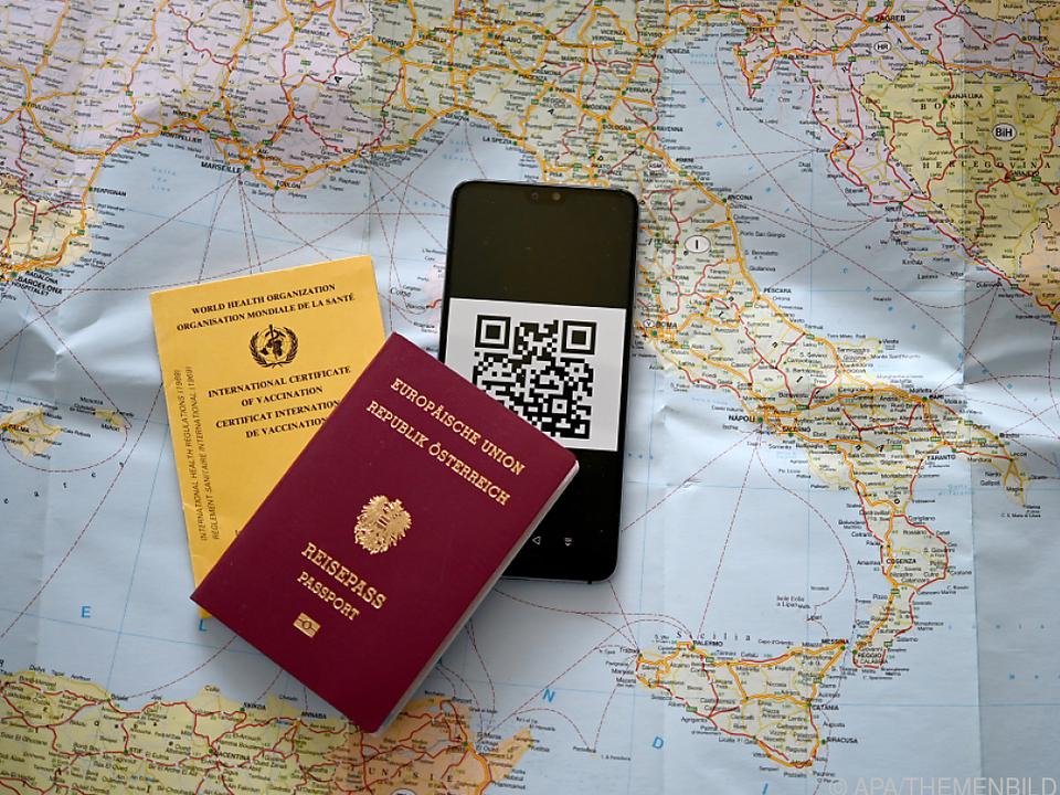 Elektronischer Grüner Pass verzögert sich