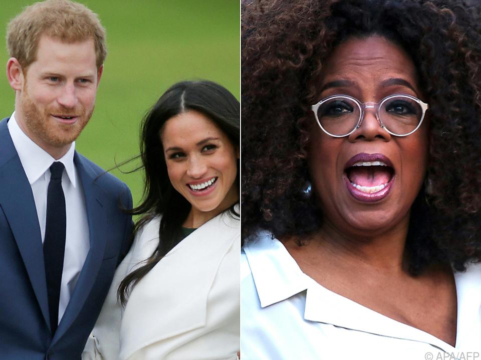 Erfolgsteam: Harry, Meghan und US-Talkshowlegende Oprah Winfrey