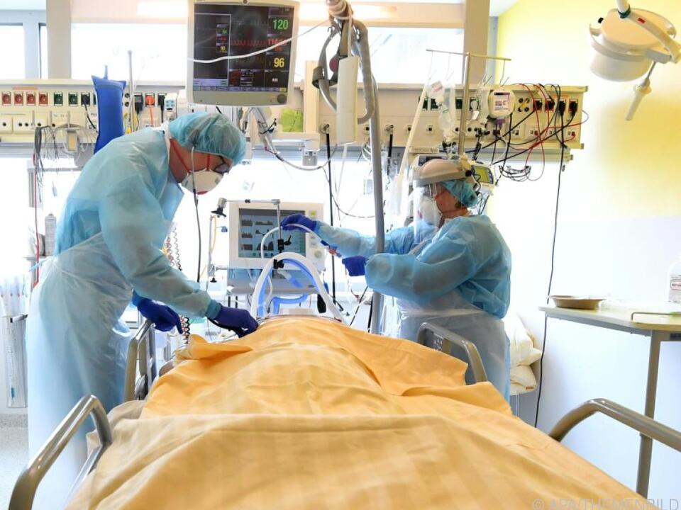Erstmals seit mehr als zwei Monaten unter 1.400 Hospitalisierte