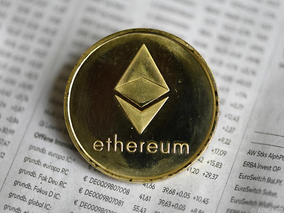Ether steigerte seinen Marktanteil bei Kryptowährungen