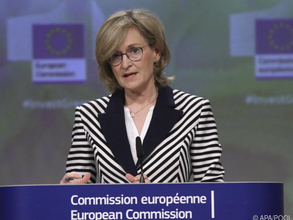 EU-Finanzmarktkommissarin Mairead McGuinness