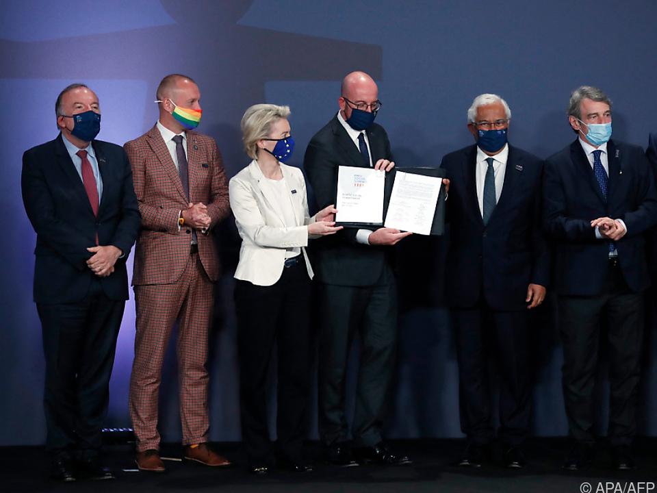 EU-Gipfel verplichtete sich schriftlich auf Sozialziele