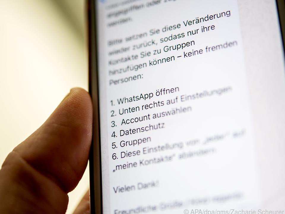Der aktuelle Whatsapp-Kettenbrief schürt unnötig Panik