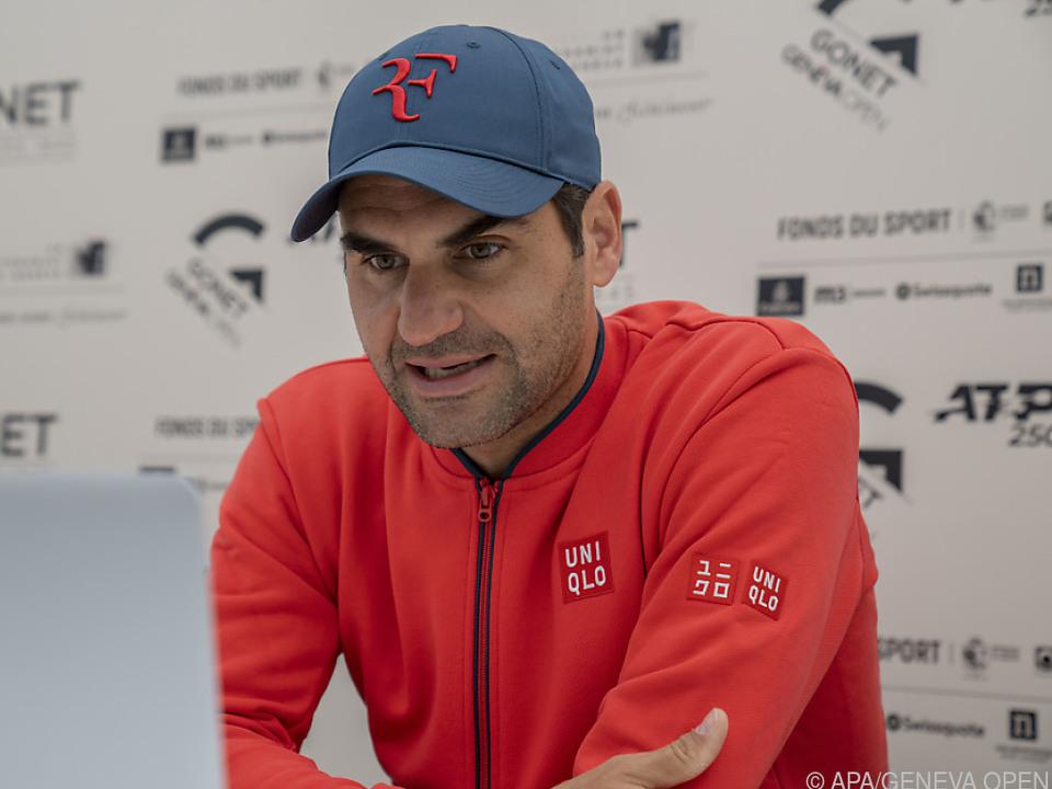 Federer bei virtueller Pressekonferenz: Wimbledon hat Priorität
