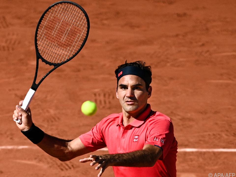 Federer hatte bei Erstrunden-Auftritt alles im Griff