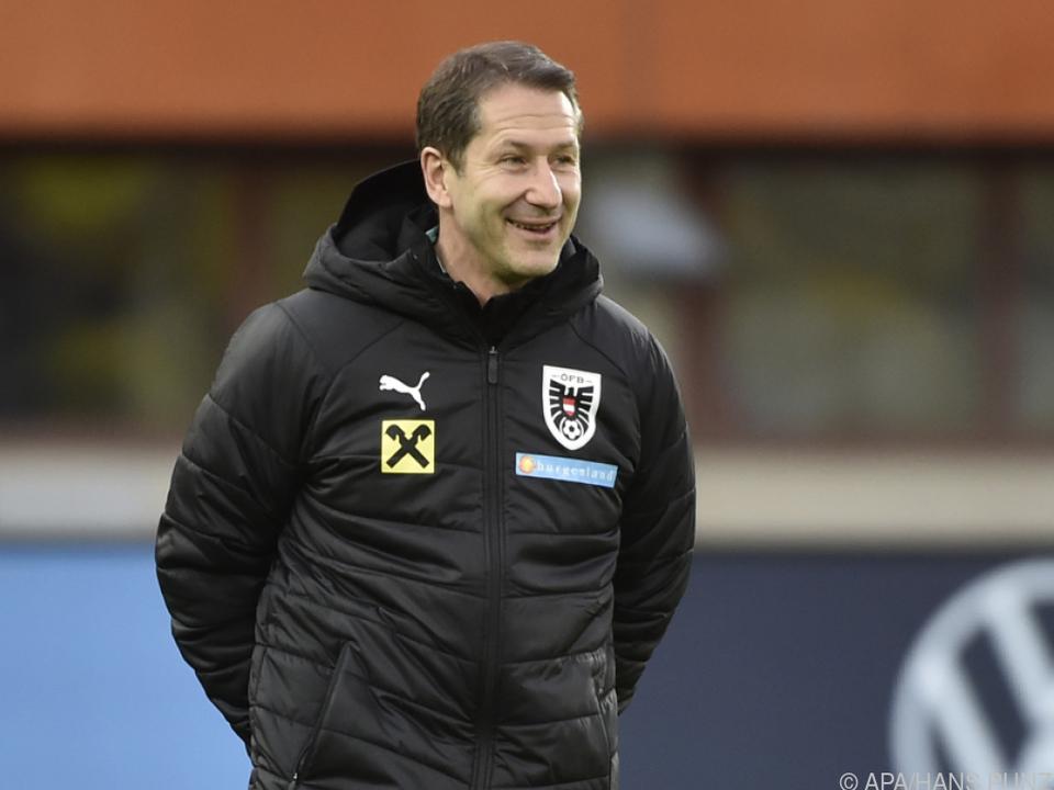 Franco Foda darf für die EM 26 Spieler nominieren