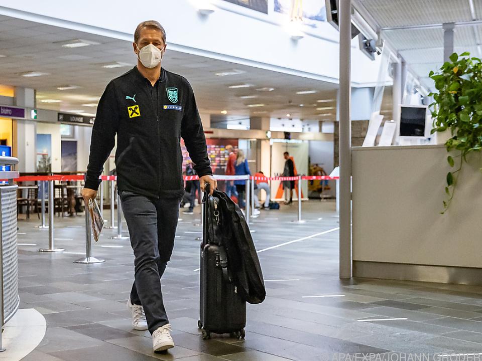 Franco Foda darf mit seinem Team nach England reisen