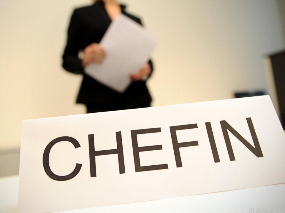 Frauen im Vorstand sind auch in Deutschland noch Mangelware