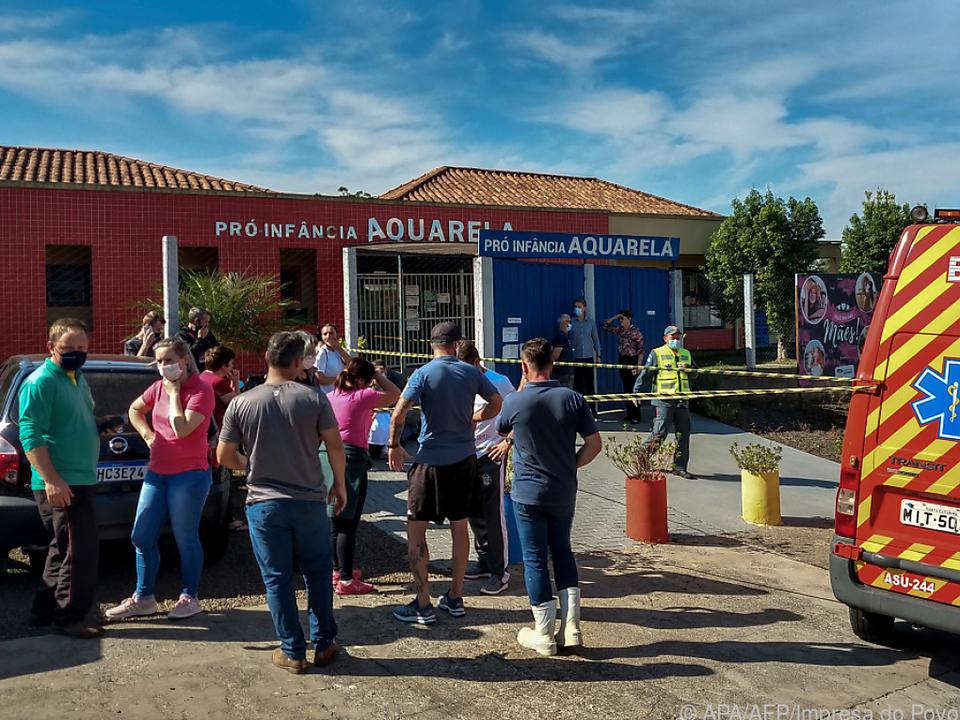 Fünf Tote bei Angriff auf Vorschule in Brasilien