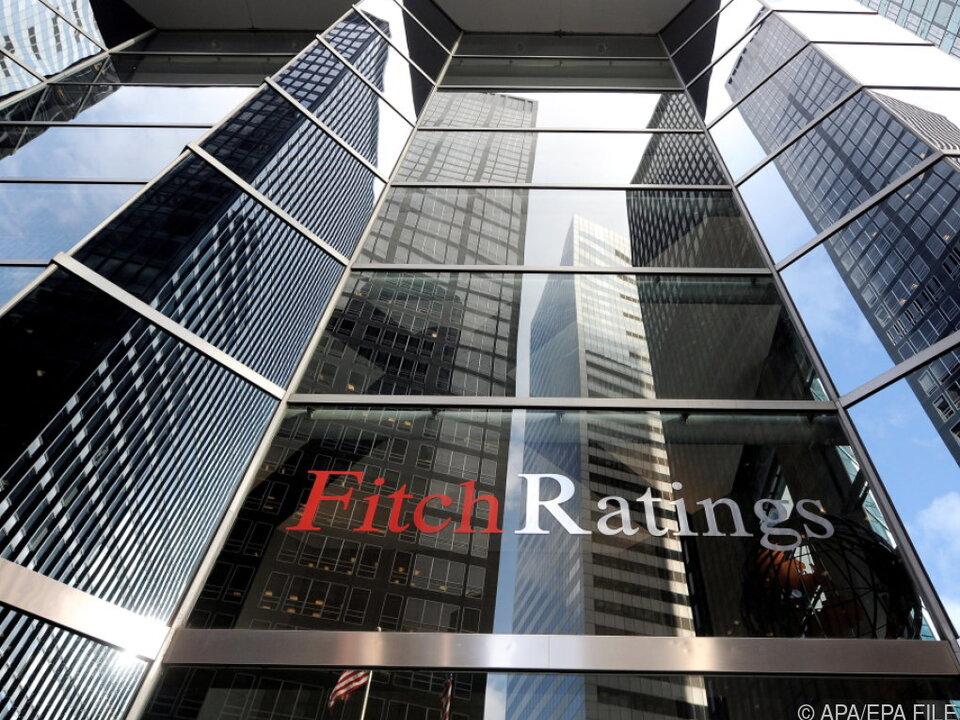 Gebäude der Ratingagentur Fitch in New York