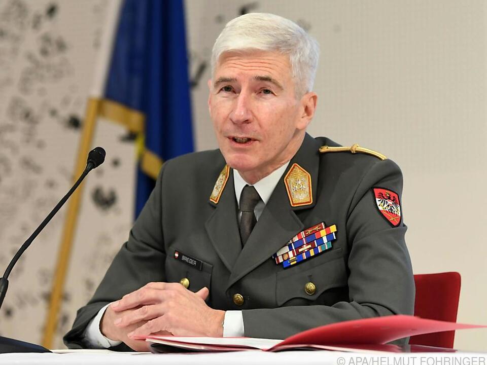 Generalstabschef Robert Brieger