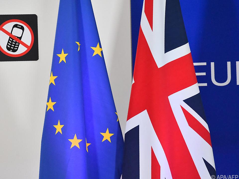 Getrennt: EU und Großbritannien