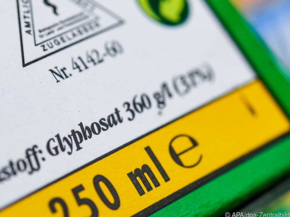 Glyphosat wird eingeschränkt