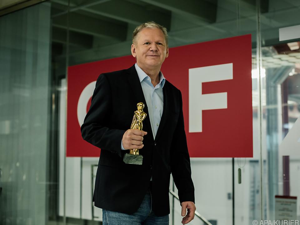 Günther Mayr mit Corona-Expertise zum Romy-Gewinner