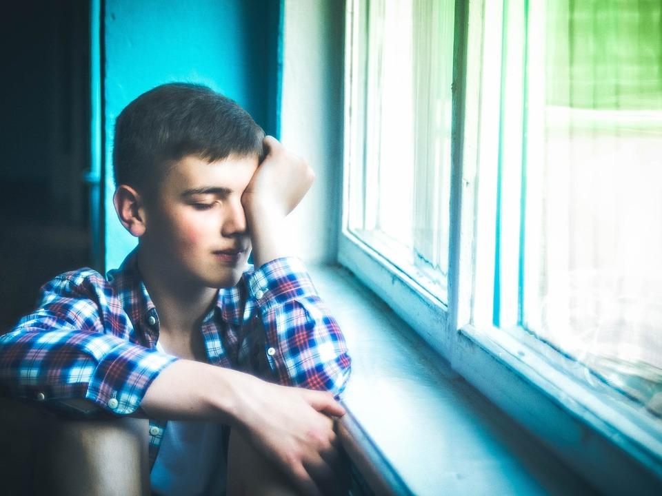 müdigkeit depression fatigue traurig