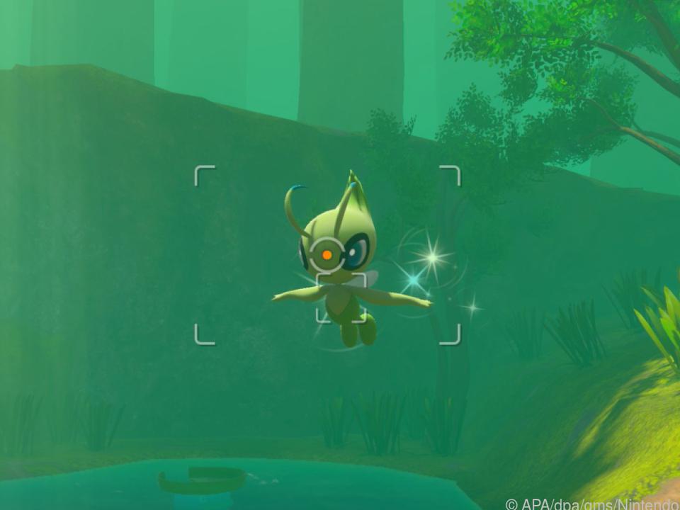 Noch nicht ganz im goldenen Schnitt, aber schon ein gutes Bild von diesem Pokémon
