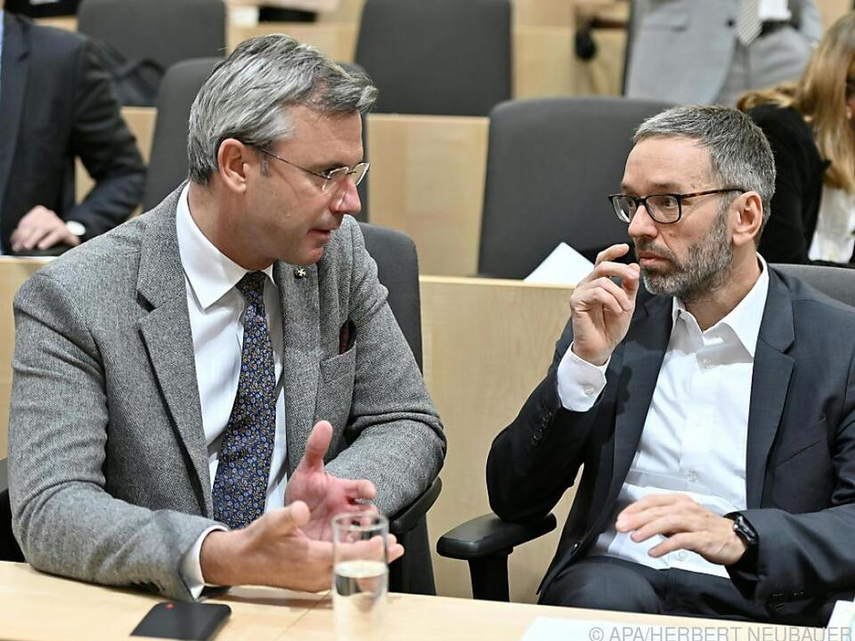 Hofer und Kickl wären beide für Spitzenkandidatur bereit.
