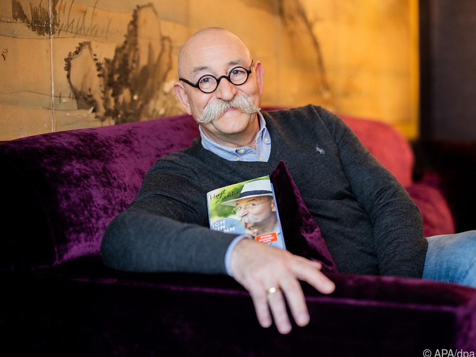 Horst Lichter mit seinem eigenen Buch