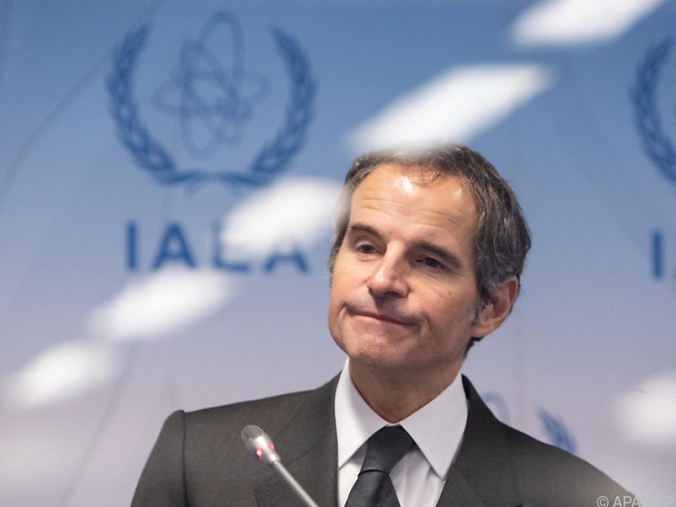 IAEA-Chef Grossi präsentiert die Einigung