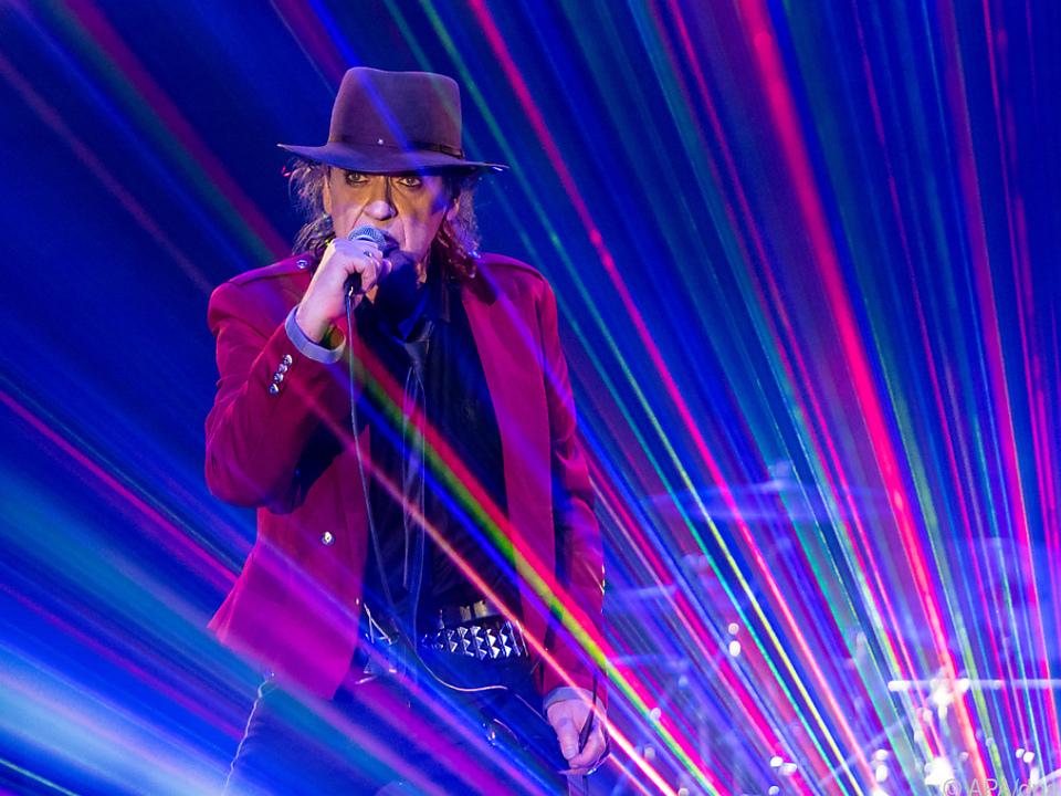 Immer mit Hut - so kennt man den deutschen Musiker