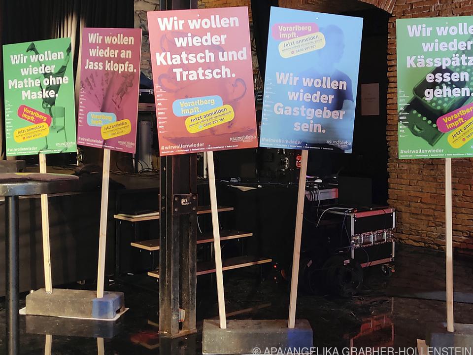 Impfung in Vorarlberg wirkt