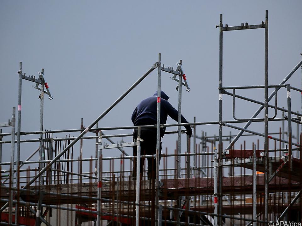 In der Bauwirtschaft ist die Nachfrage besonders stark