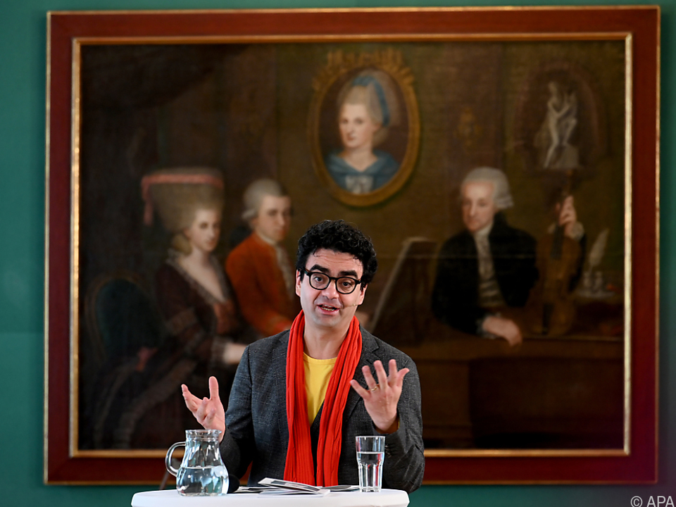 Indendant Rolando Villazon präsentierte das Programm der Mozartwoche