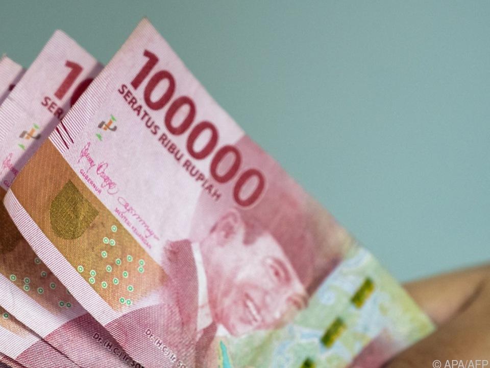 Indonesische Rupiah-Banknoten