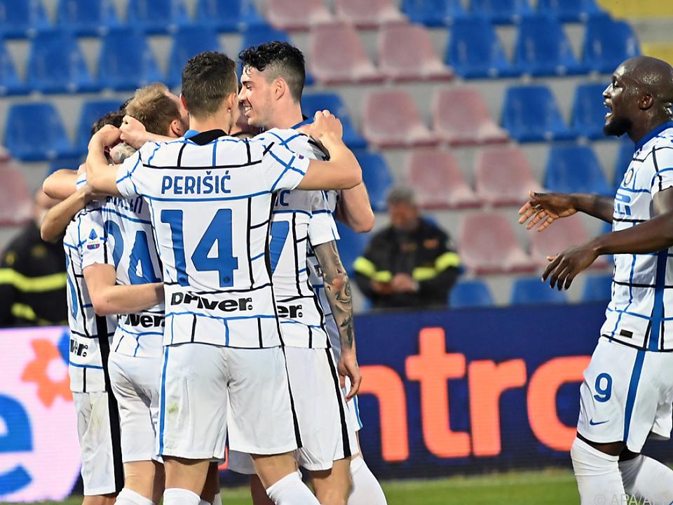 Inter Mailand bejubelt ersten Meistertitel seit 2010