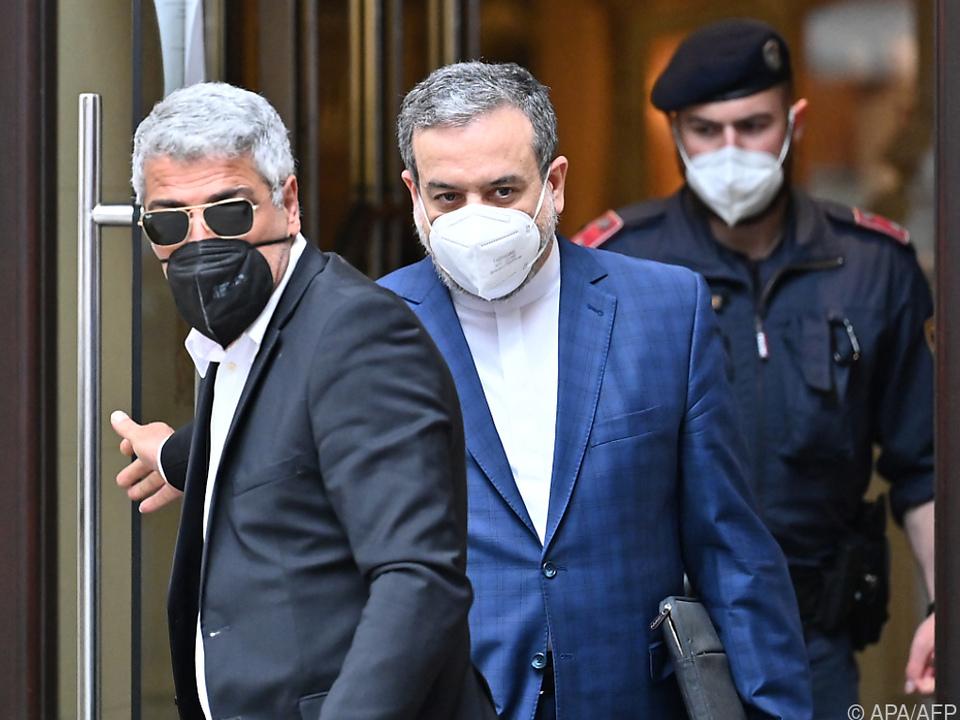 Irans Chefverhandler bei Atom-Gesprächen in Wien