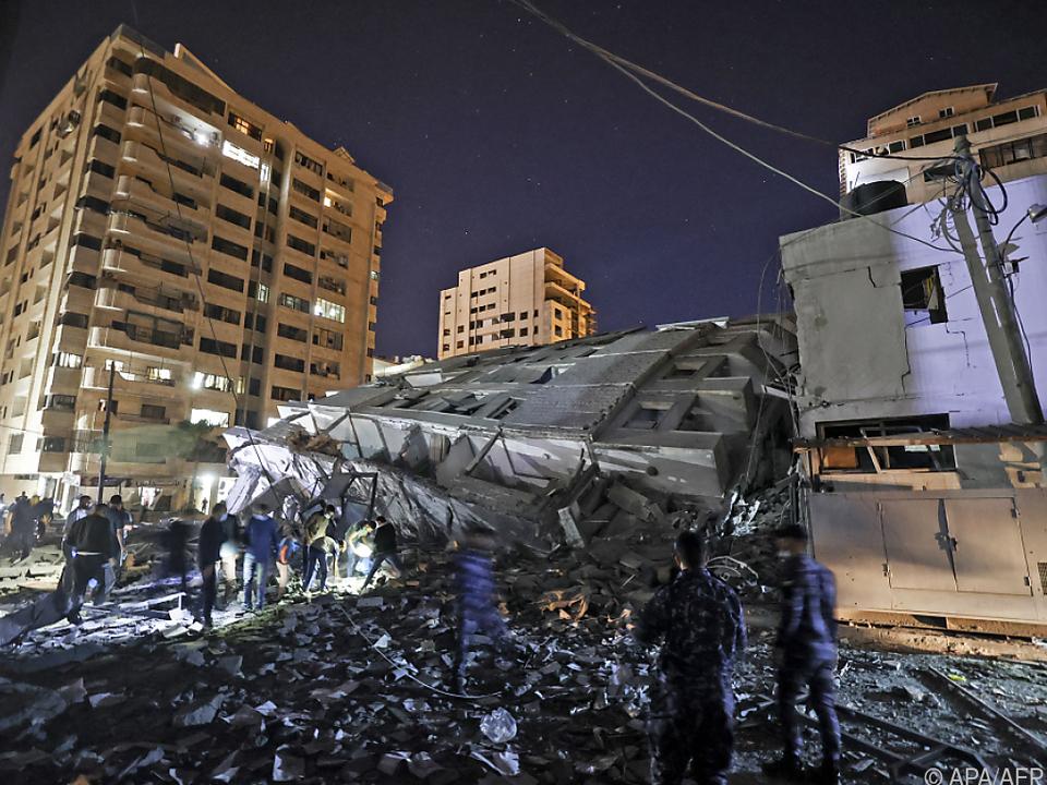 Israel griff Ziele in Gaza an
