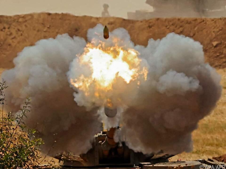 Israel kontert die Angriffe der Hamas