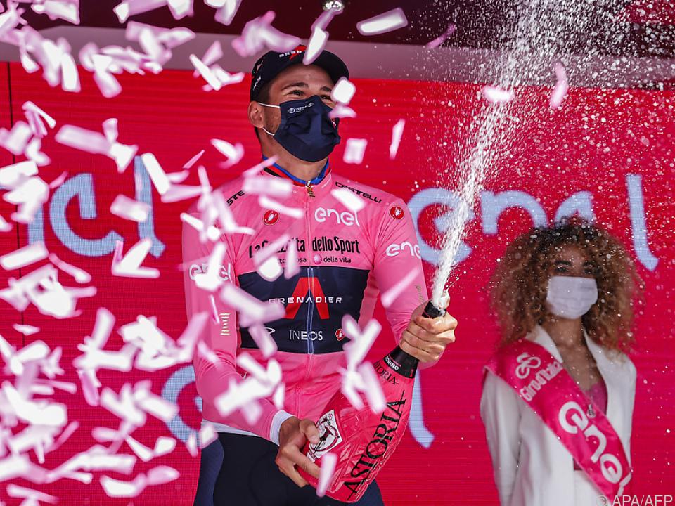Italiener Filippo Ganna gewann Auftakt-Zeitfahren beim Giro