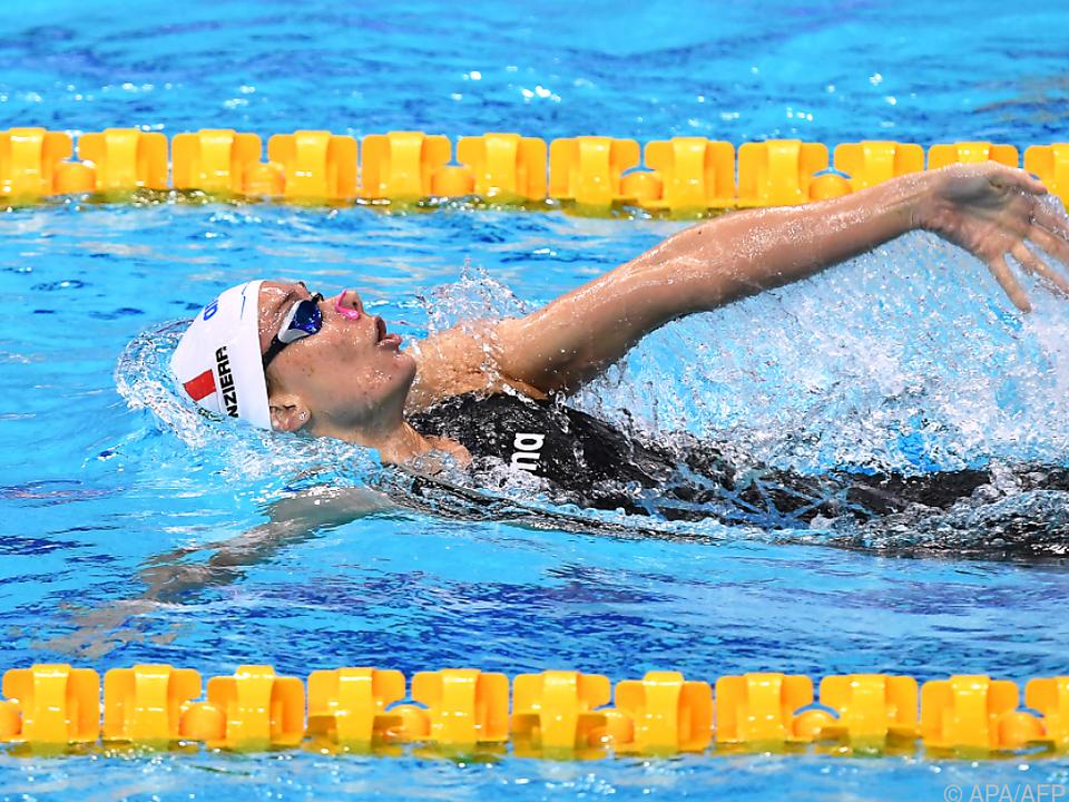 Italienerin Panziera holte EM-Gold über 200 m Rücken - Grabowski 4.