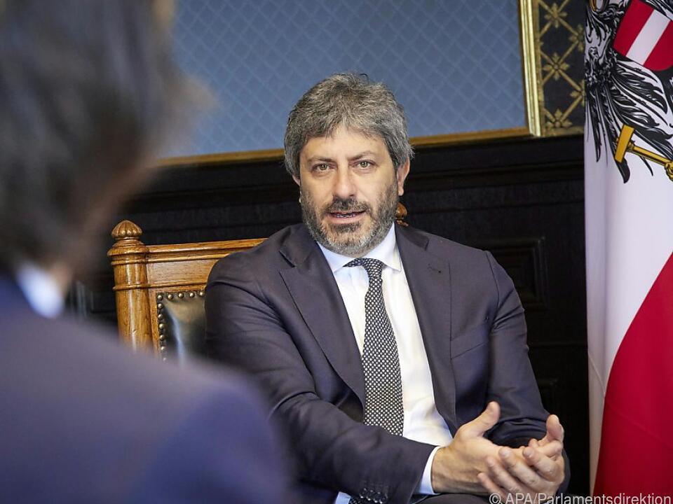 Italienischer Parlamentspräsident Fico in Wien