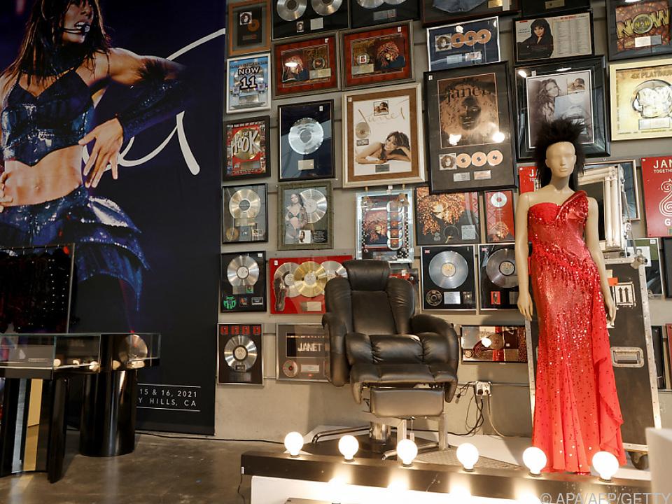 Janet Jackson trennte sich von mehr als 1.000 persönlichen Stücken