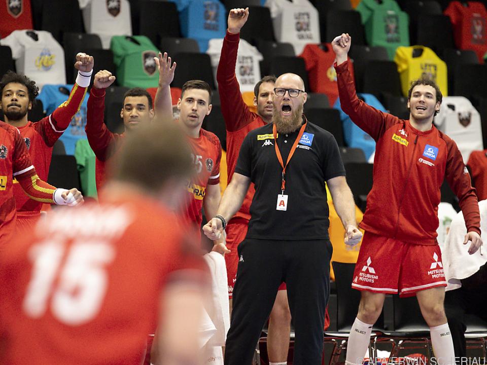 Jubel bei Österreichs Handball-Männern nach EM-Qualifikation