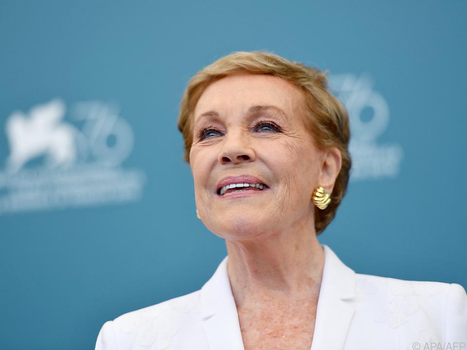 Julie Andrews erhielt Oscar für Disney-Musical \