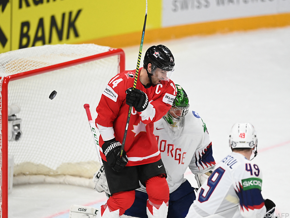 Kanadas Adam Henrique traf beim 4:2 gegen Norwegen doppelt