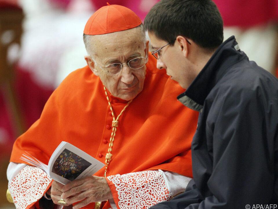 Kardinal Ruini gilt immer noch als einflussreich (Archivbild)